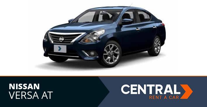 Alquiler de Autos Nissan Versa AT Rent a Car